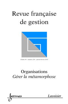 Couverture de l'ouvrage Revue française de gestion Volume 40 N° 238/Janvier-Février 2014