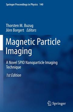 Couverture de l'ouvrage Magnetic Particle Imaging