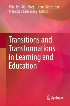 Cover of the book Transitions and Transformations in Learning and Education