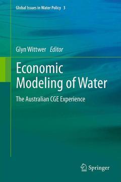 Couverture de l'ouvrage Economic Modeling of Water
