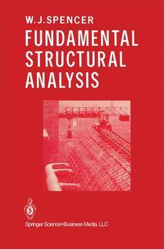 Couverture de l'ouvrage Fundamental Structural Analysis