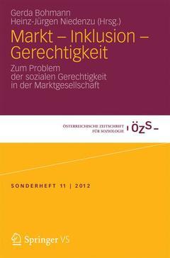 Couverture de l'ouvrage Markt - Inklusion - Gerechtigkeit