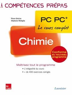 Couverture de l'ouvrage Chimie 2e année PC PC*