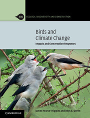 Cover of the book Birds and Climate Change