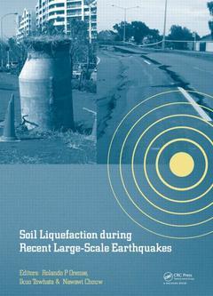 Couverture de l'ouvrage Soil Liquefaction during Recent Large-Scale Earthquakes