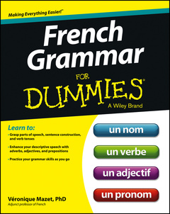 Couverture de l'ouvrage French Grammar For Dummies