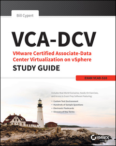 Cover of the book VCA-DCV VMware Certified Associate on vSphere Study Guide