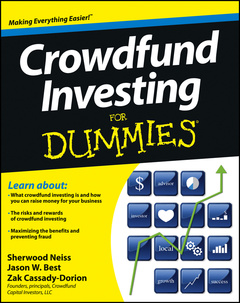 Cover of the book Crowdfund Investing For Dummies