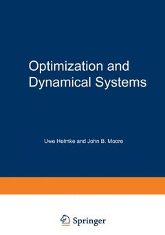 Couverture de l'ouvrage Optimization and dynamical systems (Communications and control engineering series), 1st ed 1994, corr. 2nd printing 1996