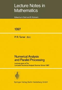 Couverture de l'ouvrage Numerical Analysis and Parallel Processing