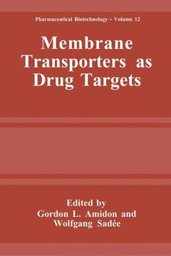 Cover of the book Membrane transporters as drug targets