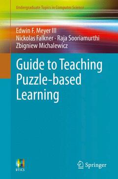 Couverture de l'ouvrage Guide to Teaching Puzzle-based Learning