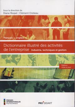 Couverture de l'ouvrage Dictionnaire illustré des activités de l'entreprise