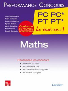 Couverture de l'ouvrage Maths 2e année PC PC* - PT PT*