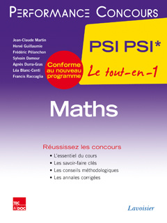 Cover of the book Maths 2e année PSI PSI*