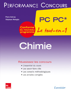 Cover of the book Chimie 2e année PC PC*