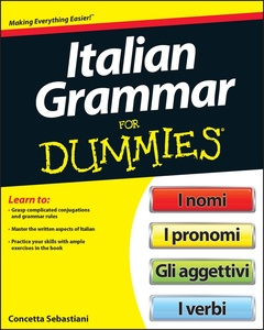 Cover of the book Italian Grammar For Dummies