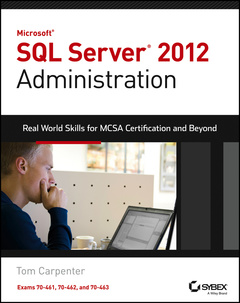 Cover of the book Microsoft SQL Server 2012 Administration