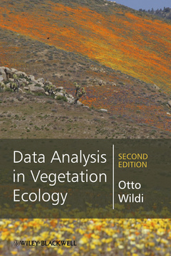 Couverture de l'ouvrage Data Analysis in Vegetation Ecology