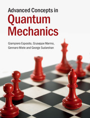 Cover of the book Advanced Concepts in Quantum Mechanics