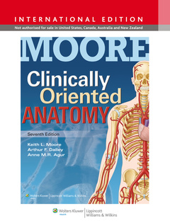 Cover of the book Moore Clinically Oriented Anatomy ISE 7e & Rhoades Medical Physiology ISE 4e Package