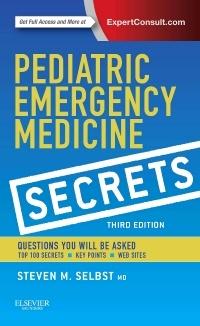Couverture de l'ouvrage Pediatric Emergency Medicine Secrets