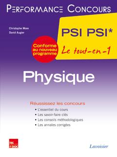 Couverture de l'ouvrage Physique 2e année PSI PSI*
