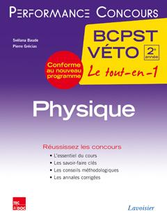 Couverture de l'ouvrage Physique 2e année BCPST-VÉTO