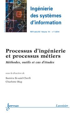 Couverture de l'ouvrage Ingénierie des systèmes d'information RSTI série ISI Volume 19 N° 1/Janvier-Février 2014