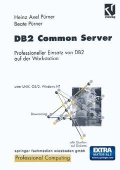 Couverture de l'ouvrage DB2 Common Server