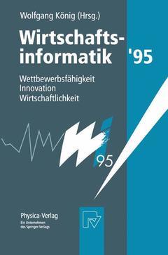 Cover of the book Wirtschaftsinformatik '95