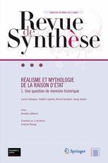 Couverture de l'ouvrage Réalisme et mythologie de la raison d'État