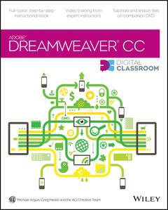 Cover of the book Dreamweaver CC Digital Classroom