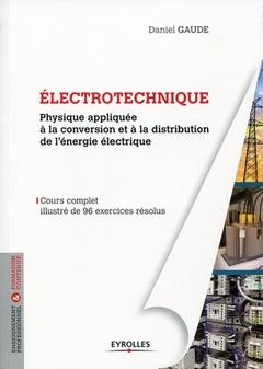 Couverture de l'ouvrage Électrotechnique 1