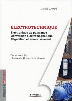 Couverture de l'ouvrage Électrotechnique 2