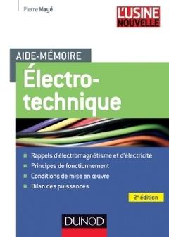 Couverture de l'ouvrage Electrotechnique