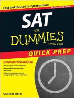 Couverture de l'ouvrage SAT For Dummies®