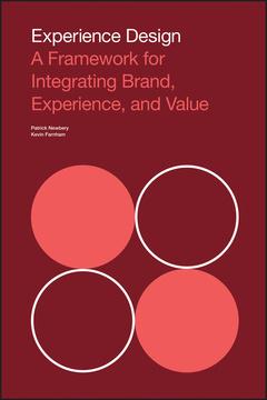 Couverture de l'ouvrage Experience Design