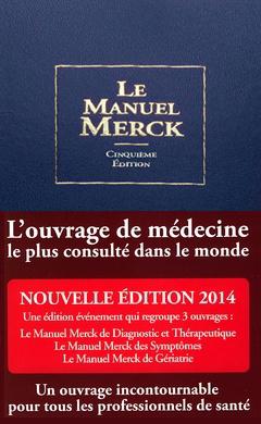 Couverture de l'ouvrage Le manuel Merck