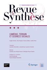 Couverture de l'ouvrage Caméras, terrain, sciences sociales