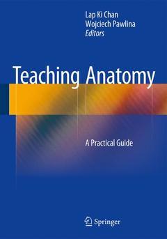 Couverture de l'ouvrage Teaching Anatomy