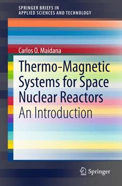 Couverture de l'ouvrage Thermo-Magnetic Systems for Space Nuclear Reactors