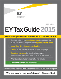 Couverture de l'ouvrage EY Tax Guide 2015