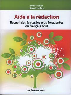 Couverture de l'ouvrage Aide à la rédaction