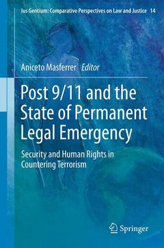 Cover of the book Post 9/11 and the State of Permanent Legal Emergency