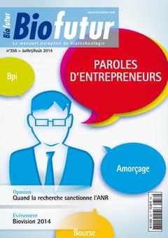 Couverture de l'ouvrage Biofutur N° 356 (Juillet-Août 2014)