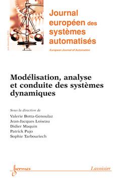 Couverture de l'ouvrage Journal européen des systèmes automatisés RS-série JESA Volume 47 N° 4-8/Juin-Décembre 2013