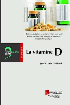 Couverture de l'ouvrage La vitamine D