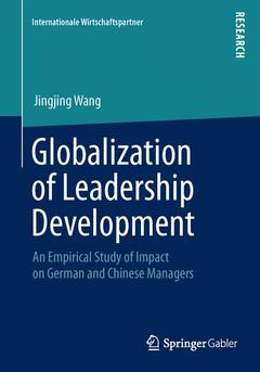 Cover of the book Globalization of Leadership Development