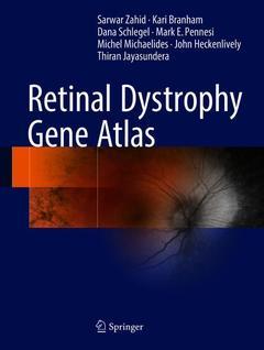 Couverture de l'ouvrage Retinal Dystrophy Gene Atlas